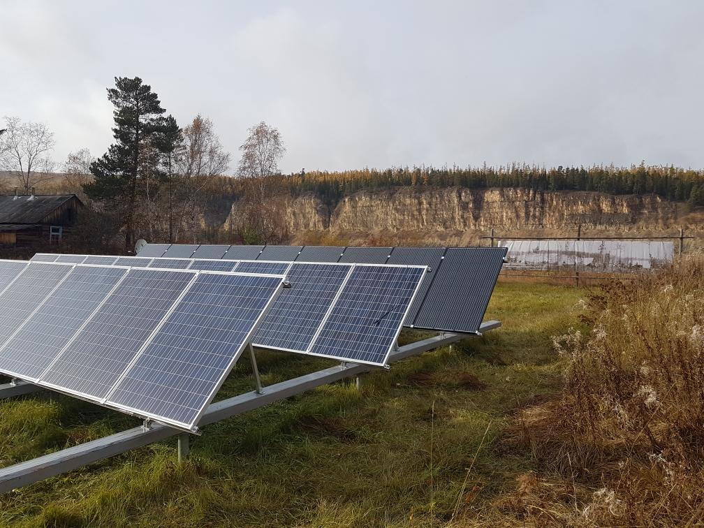 Солнечные энергосистемы заповедника