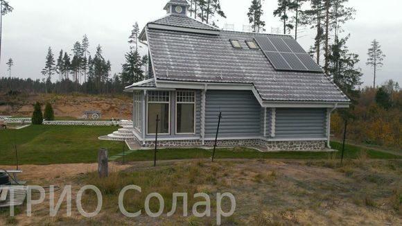 Солнечная энергосистема загородного дома
