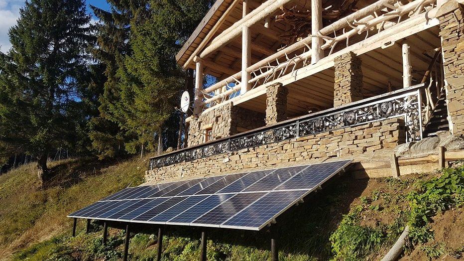 Солнечная энергосистема фермерского хозяйства