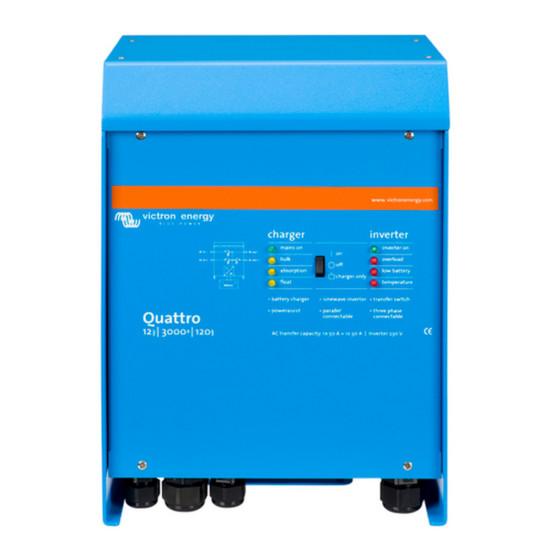 Инвертор-Зарядное устройство Quattro 12/3000/120-50/50 230V VE.Bus