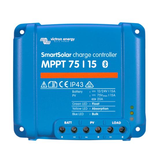 Солнечный контроллер заряда SmartSolar MPPT 75/15 Retail